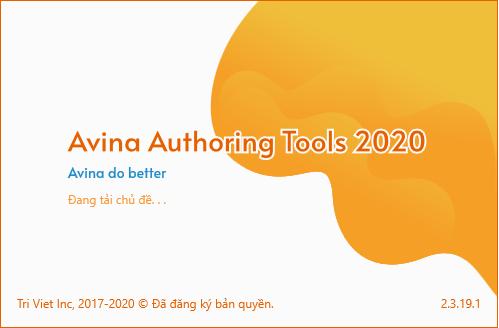 Trí Việt Inc phát hành phiên bản Avina Authoring Tools 2020